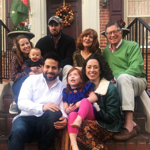 Attorney Charles Nance with his family at Thanksgiving